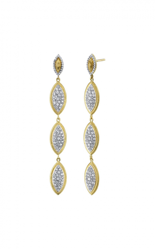 Sloane Street Jewelry Earrings SS-E007E-WDCB-Y product image