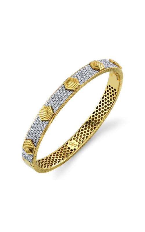 Sloane Street Jewelry Bracelet SS-B004L-WDCB-Y product image
