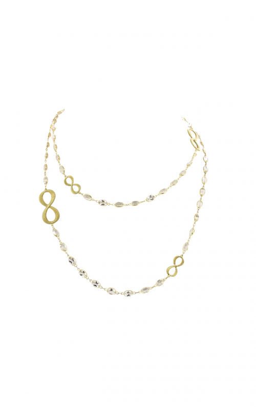 Sloane Street Jewelry Necklace SS-CH008C-WT-Y product image