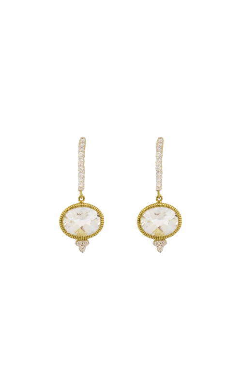 Sloane Street Jewelry Earrings SS-E003C-WT-WDCB-Y product image