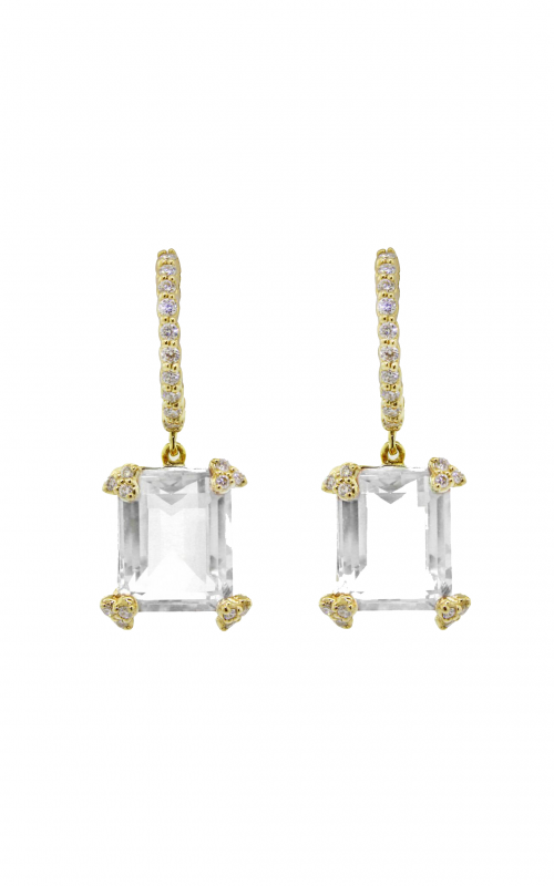 Sloane Street Jewelry Earrings SS-E004C-WT-WD-Y product image