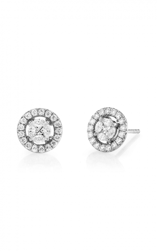 Sloane Street Jewelry Earrings SS-E008-1-WD-W product image