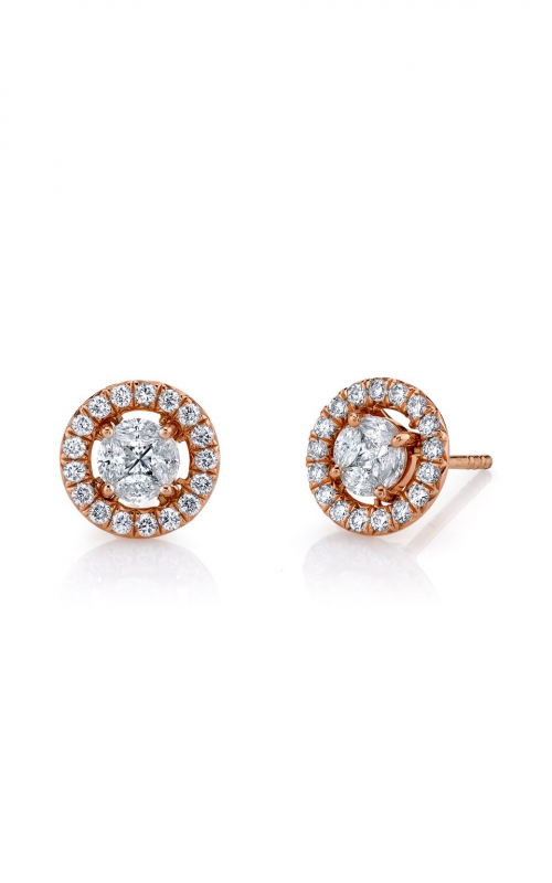 Sloane Street Jewelry Earrings SS-E008-1-WD-R product image