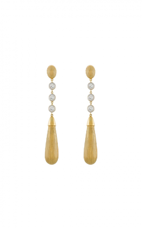 Sloane Street Jewelry Earrings SS-E021-WDCB-Y product image