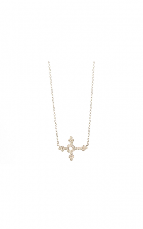 Sloane Street Jewelry Necklace SS-P011D-WD-W product image