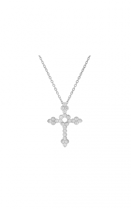 Sloane Street Jewelry Necklace SS-P006D-WD-W product image