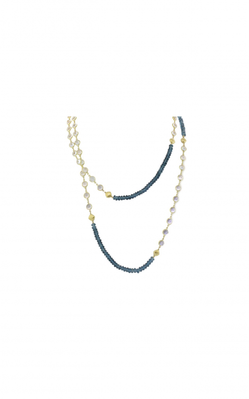 Sloane Street Jewelry Necklace SS-CH006T-LB-WT-Y product image