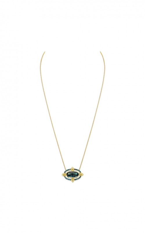 Sloane Street Jewelry Necklace SS-P001E-LB-BDBR-Y product image