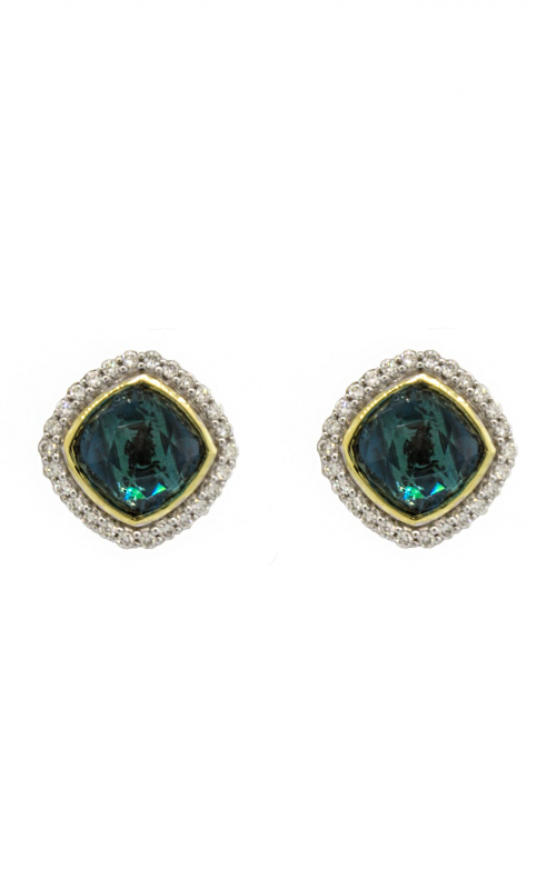 Sloane Street Jewelry Earrings SS-E009-LB-WDCB-Y product image