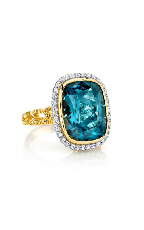 Sloane Street Jewelry Fashion ring SS-R002E-LB-WDCB-Y product image