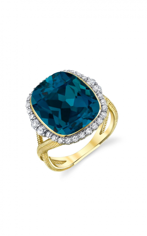 Sloane Street Jewelry Fashion ring SS-R017-LB-WDCB-Y product image