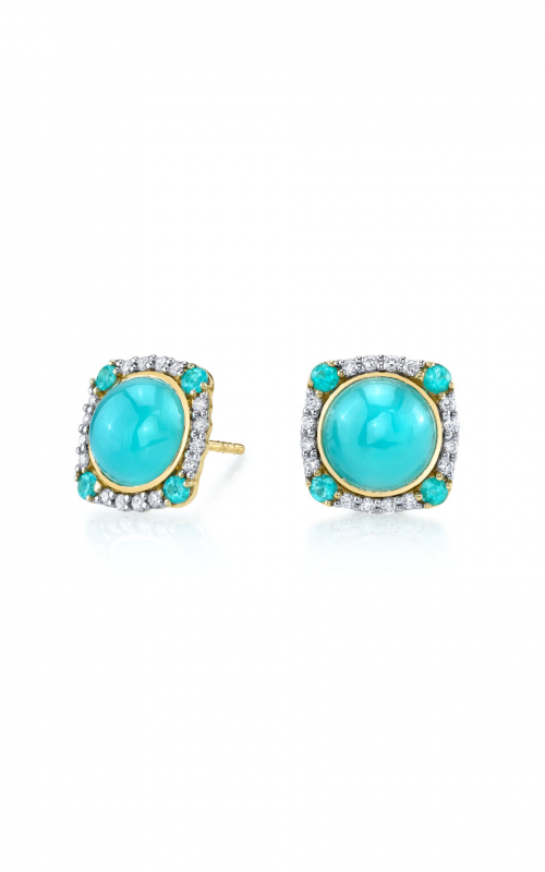 Sloane Street Jewelry Earrings SS-E153T-AC-PA-WDCB-Y product image