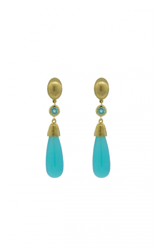 Sloane Street Jewelry Earrings SS-E043-AC-PA-Y product image