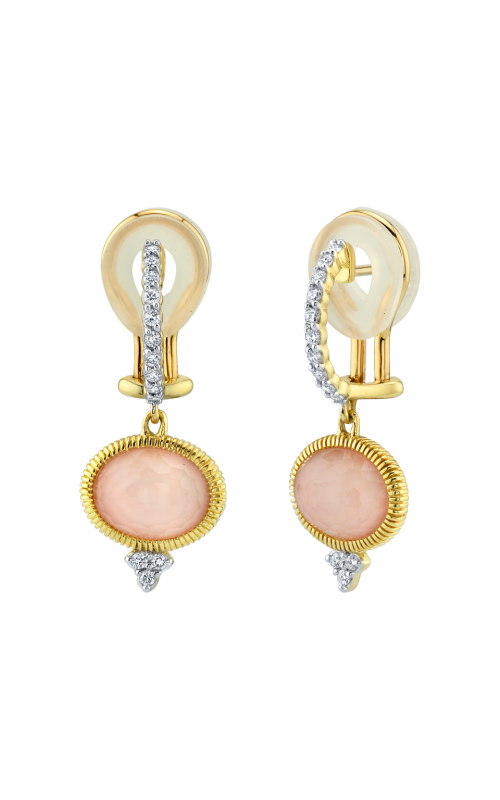 Sloane Street Jewelry Earrings SS-E003C-POT-WDCB-Y product image