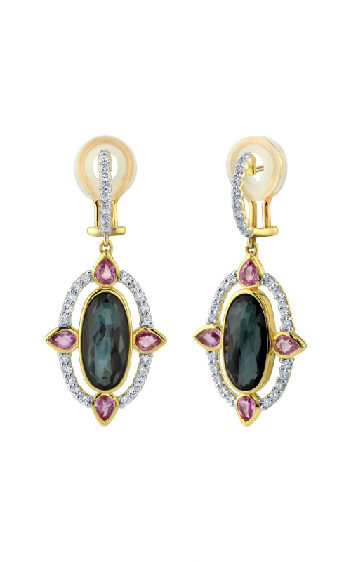 Sloane Street Jewelry Earrings SS-E001T-ETT-PS-WDCB-Y product image