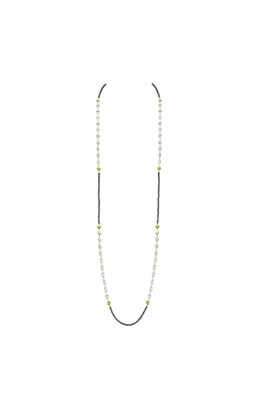 Sloane Street Jewelry Necklace SS-CH006T-HEM-WT-Y product image