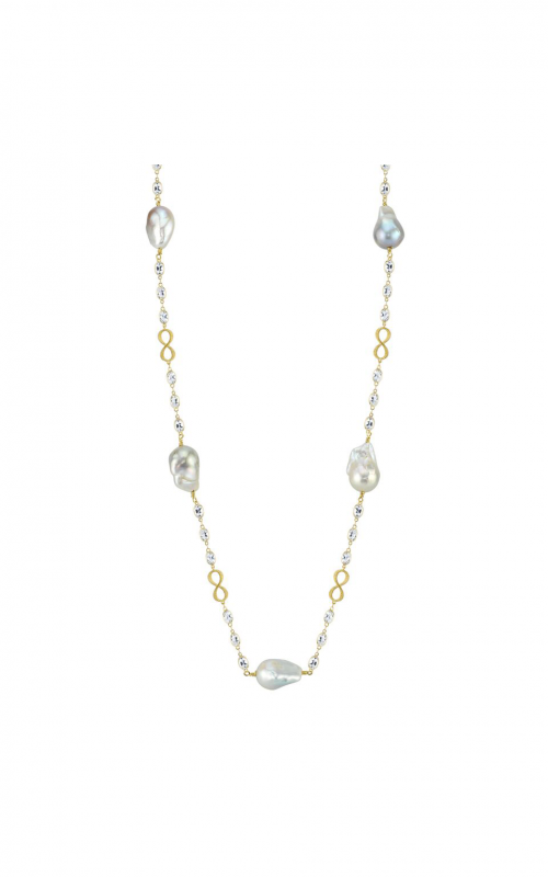 Sloane Street Jewelry Necklace SS-CT-CH004-WT-WP-Y product image