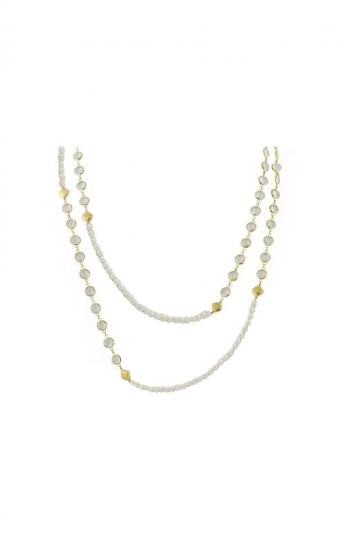 Sloane Street Jewelry Necklace SS-CH006T-WP-WT-Y product image