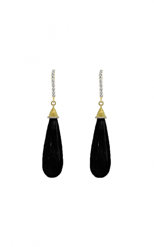 Sloane Street Jewelry Earrings SS-E012B-ONX-WDCB-Y product image