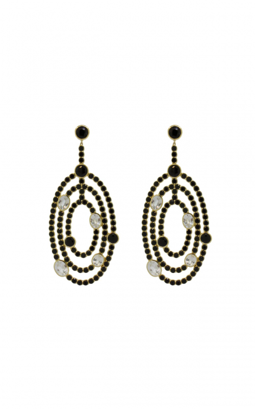 Sloane Street Jewelry Earrings SS-E214T-BSP-WS-Y product image