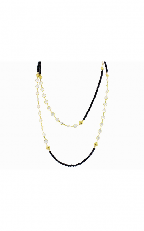 Sloane Street Jewelry Necklace SS-CH006T-BSP-WT-Y product image