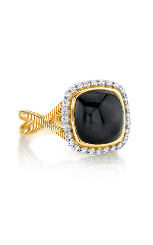 Sloane Street Jewelry Fashion ring SS-R012-ONX-WDCB-Y product image