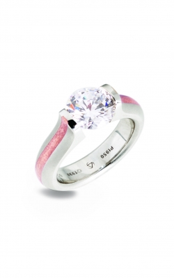 Steven Kretchmer Tension Rings Engagement ring Omega Round Stripe product image
