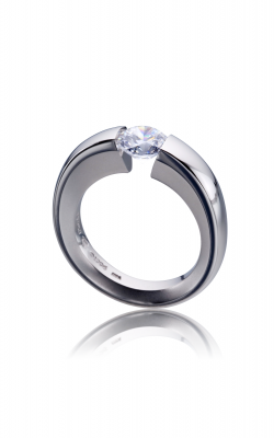Steven Kretchmer Tension Rings Engagement ring Undercut Shoulder product image