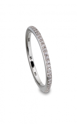 Steven Kretchmer Matching Tension Bands Wedding band Omega 1 Row Pave product image