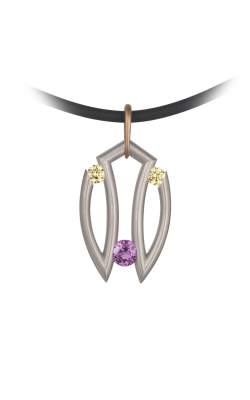 Steven Kretchmer Tension Necklace Tri-Stone product image