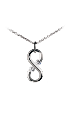 Steven Kretchmer Tension Necklace Large Vertical Infinity product image
