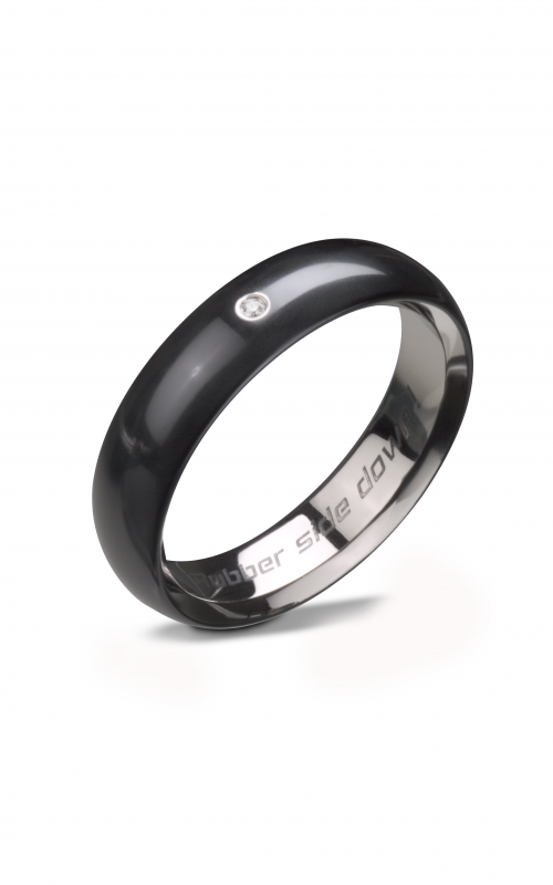 steven kretchmer polarium bands wedding band tire slick product image - Tire Wedding Rings