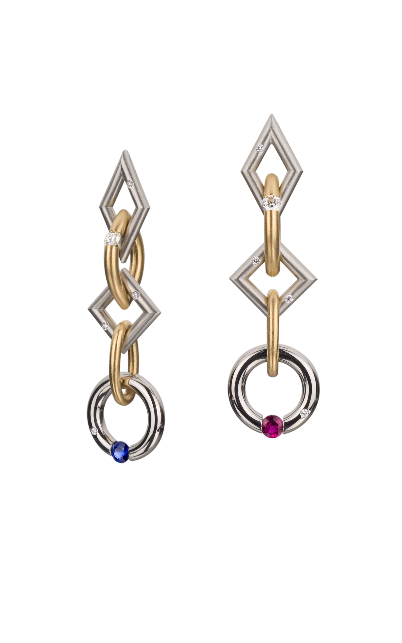 Shop Steven Kretchmer Long Jazz Earrings