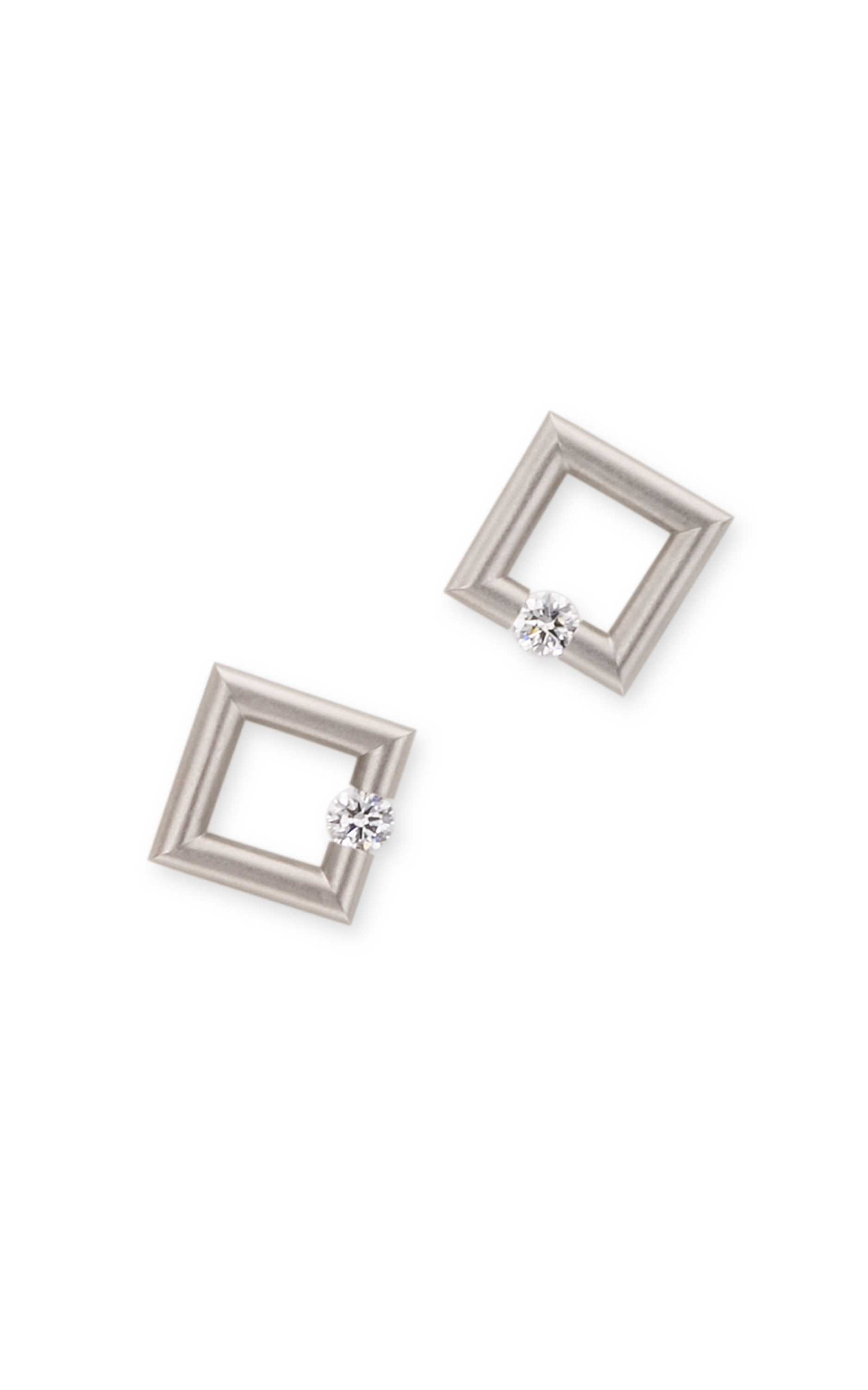 Find Steven Kretchmer Micro Square Earrings