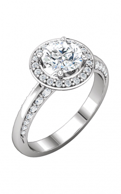 DC Halo Engagement Ring 122689 product image