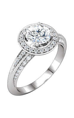 DC Halo Engagement Ring 122690 product image