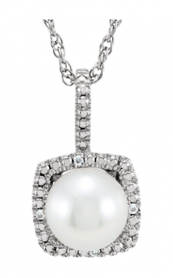 Stuller Pearl Necklace 650182 product image