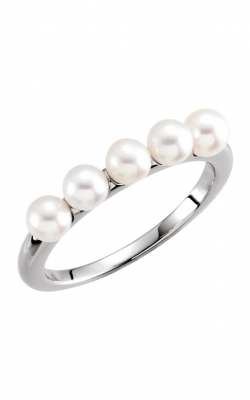 Fashion Jewelry By Mastercraft Pearl Fashion Ring 6474 product image