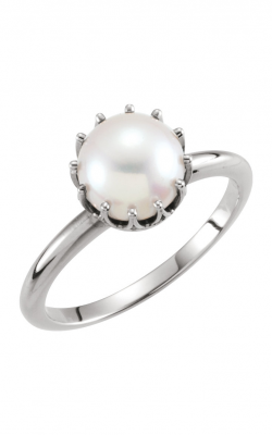 Fashion Jewelry By Mastercraft Pearl Fashion Ring 6467 product image