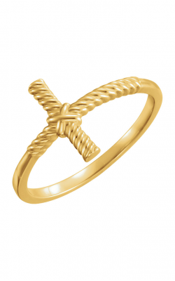 Fashion Jewelry By Mastercraft Religious And Symbolic Fashion Ring 51459 product image