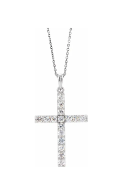 Fashion Jewelry By Mastercraft Religious And Symbolic Necklace R42308 product image