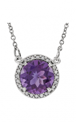Fashion Jewelry By Mastercraft Gemstone Necklace 85905 product image