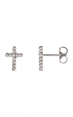 Fashion Jewelry By Mastercraft Religious And Symbolic Earring R17012 product image