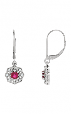 Fashion Jewelry By Mastercraft Gemstone Earring 86243 product image