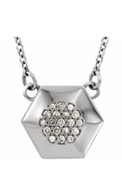 Fashion Jewelry By Mastercraft Diamond Necklace 86234 product image