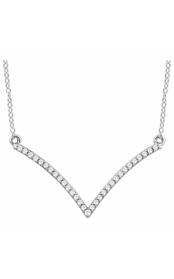 Fashion Jewelry By Mastercraft Diamond Necklace 651756 product image