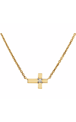 Fashion Jewelry By Mastercraft Diamond Necklace 651936 product image