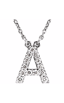 Fashion Jewelry By Mastercraft Diamond Necklace 67311-100 product image