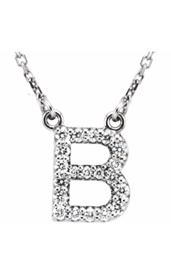 Fashion Jewelry By Mastercraft Diamond Necklace 67311-101 product image