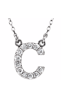 Fashion Jewelry By Mastercraft Diamond Necklace 67311-102 product image